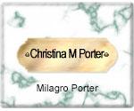 Christina M. Porter